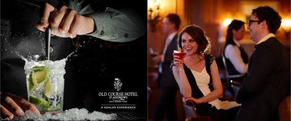 Whisky Tasting and Cocktail Masterclasses at the Old Course Hotel St Andrews