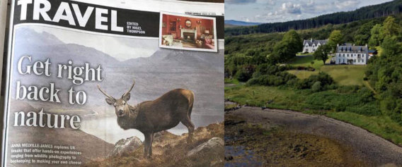 KInloch  Lodge for Scottish Wildlife Experiences