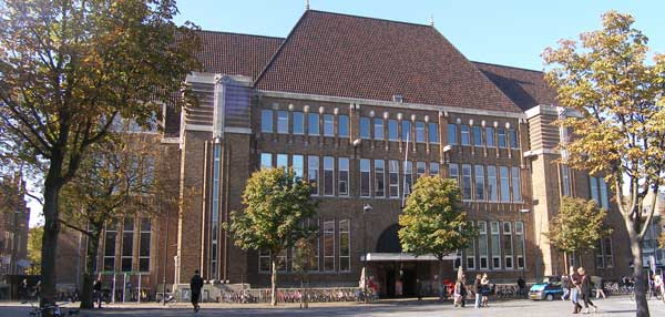voormalige postkantoor in Utrecht