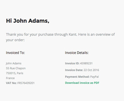 purchase confirmation template  Viewing Purchase Kant Email Template Purchase Confirmation created ...