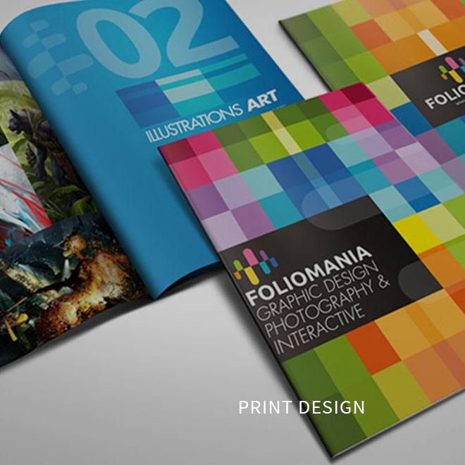 What We Do Print Design
