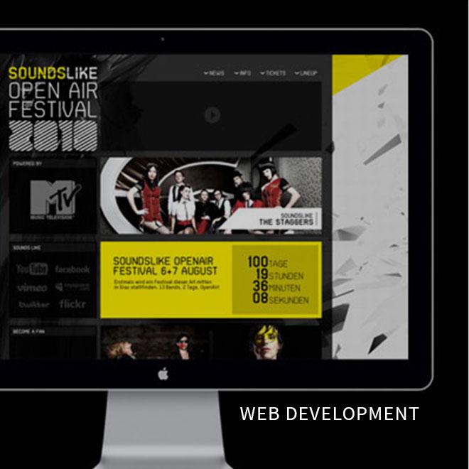 What We Do Web Development