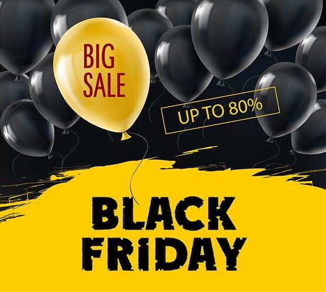 Black Friday - 50% Sale